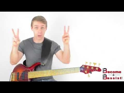Bass Harmonics - Left Hand Technique