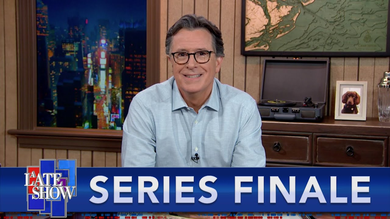 A Late Show Series Finale: Stephen Says Farewell To The Storage Closet