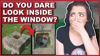 People Are Worried About This Grave With A Window