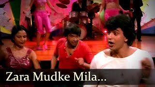 Zara Mudke Mila Aankhein - Mithun - Kim - Disco Dancer - Bollywood Hit Songs - Bappi Lahiri