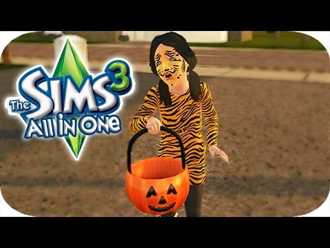 The Sims 3 All In One | Part 25 - Trick or Treating!