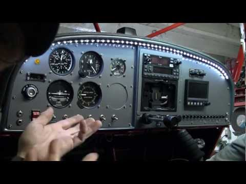 LED Cockpit Lighting System for Aircraft Interiors - BUY NOW $45