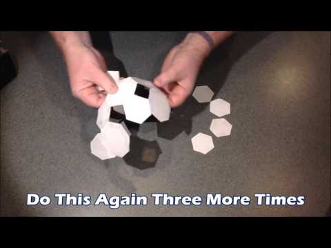 How to assemble a simple Truncated Cuboctahedron