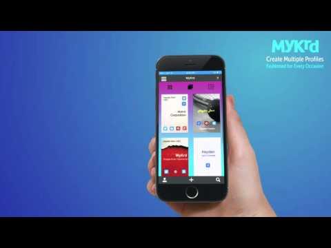 MyKrd - Create a free digital business card