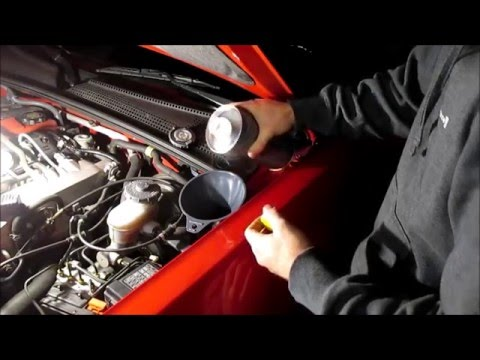 Clutch Fluid Change FAST! (Gravity Bleed Method)