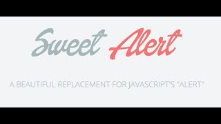 sweet alert box servlet jsp - Vidly xyz