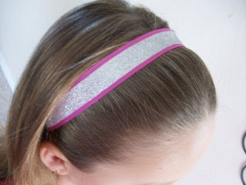 Make Glitter Sport Headbands