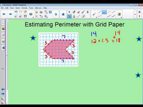 7th 8.2 Perimeter of Composite Figures Using Grid Paper