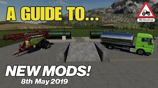 Farming Simulator 19 Mods Videos - 9tube tv