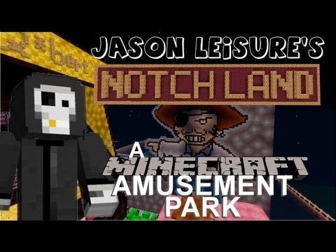 Notchland - A Minecraft Amusement Park Mega Build XBOX 360 with Download