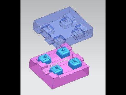 Download mold design 4 CAVITY