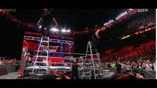 #WWETLC The Shield & Kurt Angle vs Braun Strowman Kane The Miz Cesaro Sheamus WWE TLC 2017