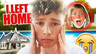 WHY I MOVED OUT AGED 16... (New Mansion REVEAL)