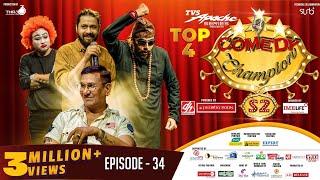 Comedy Champion Season 2 - TOP 4 || Episode 34