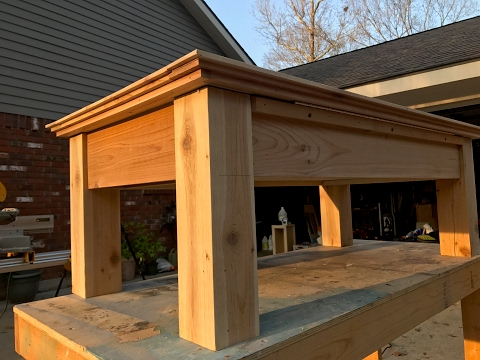 Easy Rustic Furniture Build
