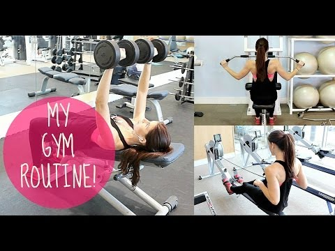 MY GYM ROUTINE | CHEST, BACK, ARMS AND SHOULDERS!
