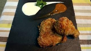 How to cook Broast Chicken | KFC chicken | home made recipe | Secret recipe - KFC - with Subtitles
