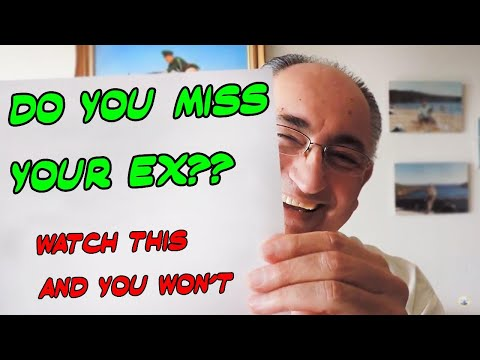 Is It Your Ex You Are Missing? Is It Really?