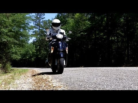 Tutorial - Riding a scooter for the first time.