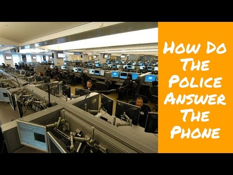 How Do The Police Answer The Phone | 911 Emergency Operator
