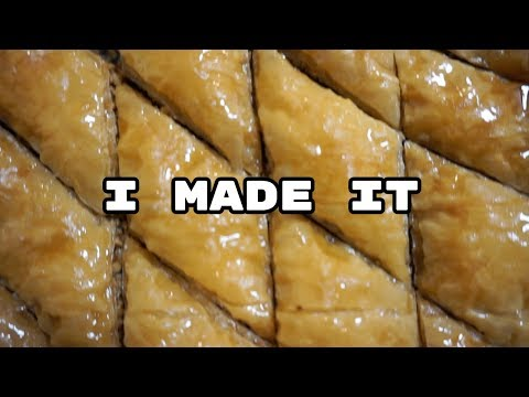 How to Make Baklava - SPECIAL ANNOUNCEMENT