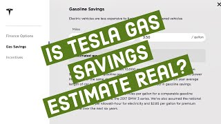 Download 💲Is Tesla Gas Savings Estimate Realistic?💲2018 Gas vs. Supercharging Costs For Model 3 Video