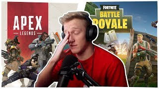 Tfue responds to people saying that APEX LEGENDS  is better than FORTNITE!