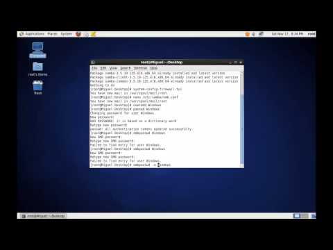 How to install and configure Samba to share files on CentOS 6