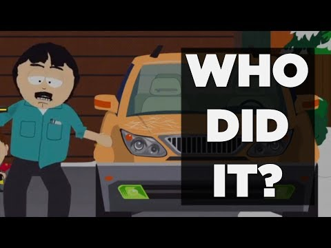 FIND OUT WHO HAS BEEN KEYING RANDY'S CAR IN SOUTH PARK: THE FRACTURED BUT WHOLE! 2017