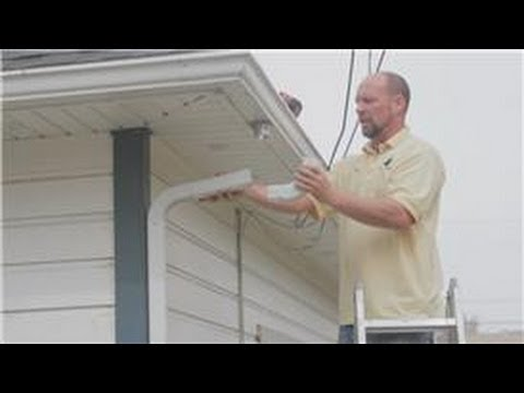 Gutter Maintenance : How to Unclog Rain Gutter Downspouts