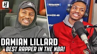 Damian Lillard Explains How He Became The BEST Rapper In The NBA!