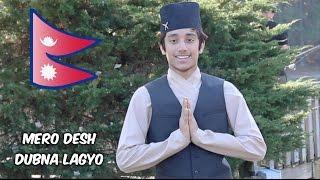 Nepali Traditional Dance || Mero Desh Dubna Lagyo