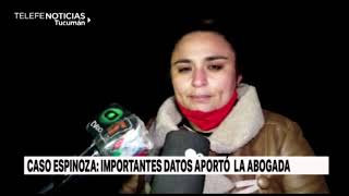 Caso Espinoza: Habló la abogada de la familia