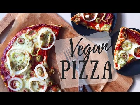 Vegan, Gluten free Pizza Dough Recipe No Yeast