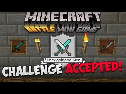 Minecraft Console: BATTLE MODE CHALLENGE! | Crouch Only