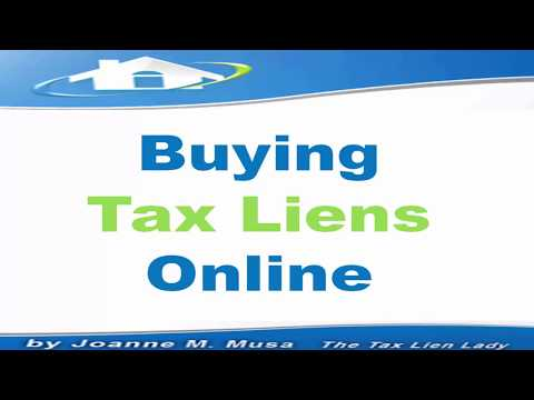 buying tax liens online 2017