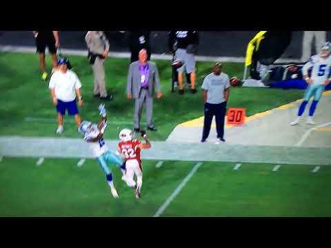 BRICE BUTLER UNREAL CATCH ON DAK PRESCOTT BULLET PASS - Cowboys Cardinals MNF Highlights