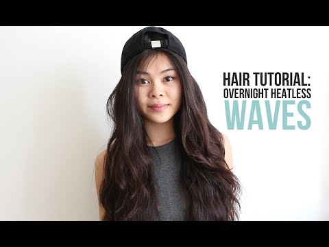 Hair Tutorial: Overnight Heatless Waves