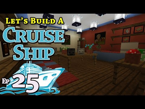 How To Build A Cruise Ship :: Minecraft :: E25 :: Z One N Only