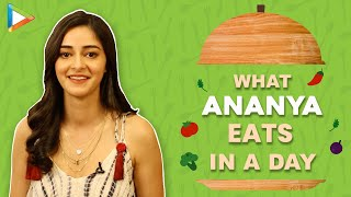 What I Eat In A Day with Ananya Panday | Secret of Her Fitness & Beauty | Bollywood Hungama