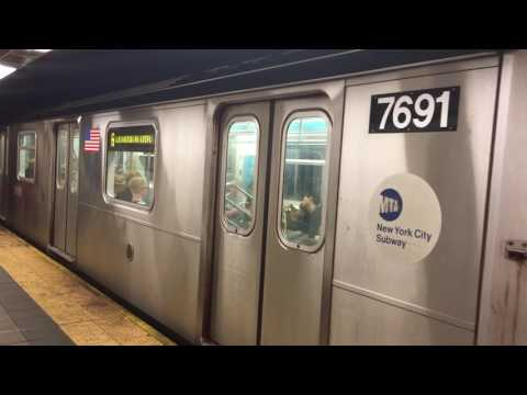 IRT Lexington Ave Line: 149th St-Grand Concourse bound R142A (6) Train at 86th St (w/ LCD Screens)