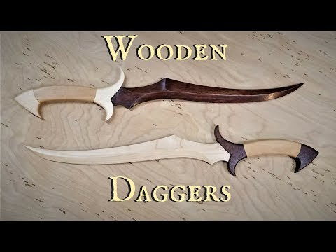 Wooden Dagger New Channel Preview