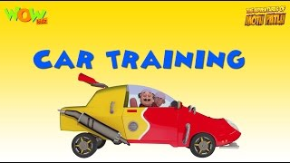 Motu Patlu Vacation Special -Car Training - As seen on Nickelodeon