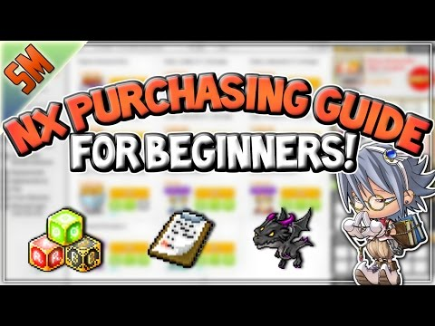 NX Purchasing Guide for Beginners!! [MapleStory]