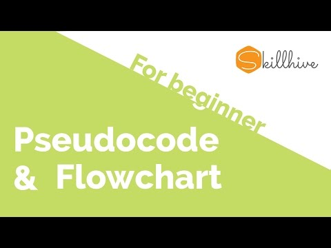 03 - Pseudocode and Flowchart - Programming for beginners series | SkillHive