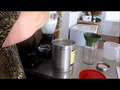 Making Evaporated Milk from Powdered Milk