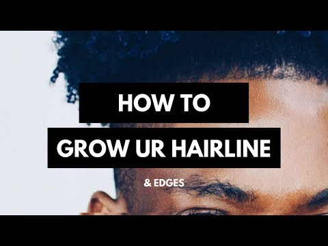 HOW TO GROW YOUR HAIRLINE & EDGES BACK TUTORIAL | SLAYTER