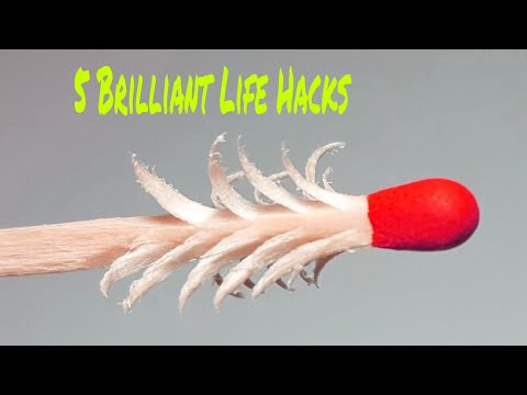 5 Brilliant Matches Life Hacks