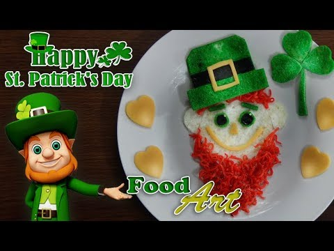 Saint Patrick's Food Art - (Saint Patrick's Day Special)