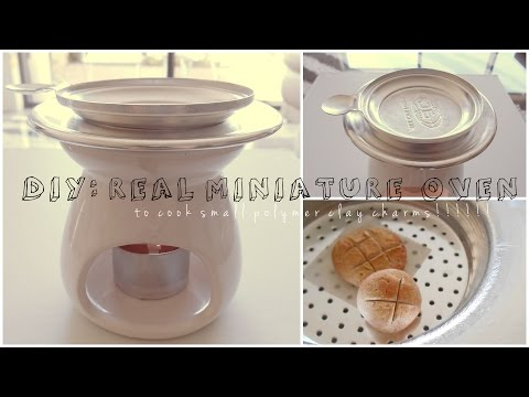 DIY MINIATURE WORKING OVEN FOR POLYMER CLAY!!!!